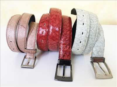 Photo ceinture n°94 à Bourg-en-Bresse par Cuir de Carpe de Dombes®